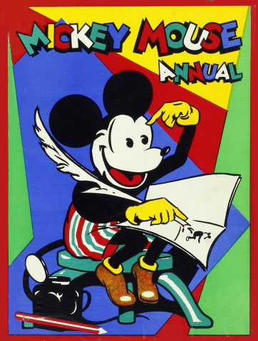 Mickey Mouse UK annual 1930