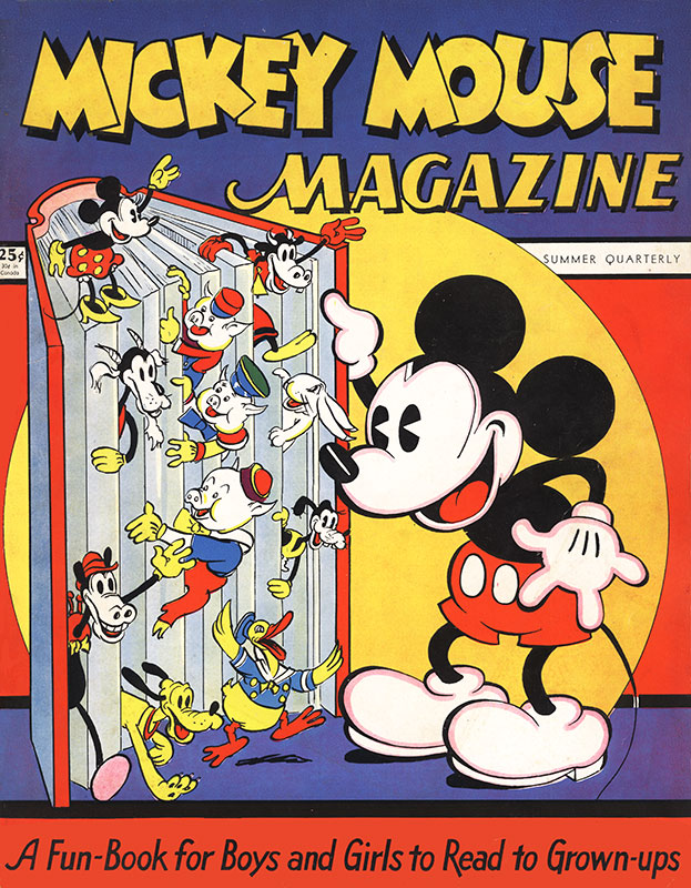 Mickey Mouse Magazine Vol. 1 #1