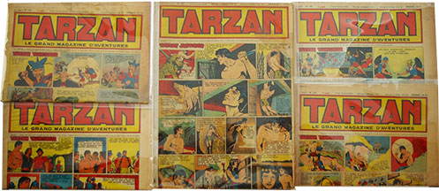 Tarzan Grand Adventure - foreign editions